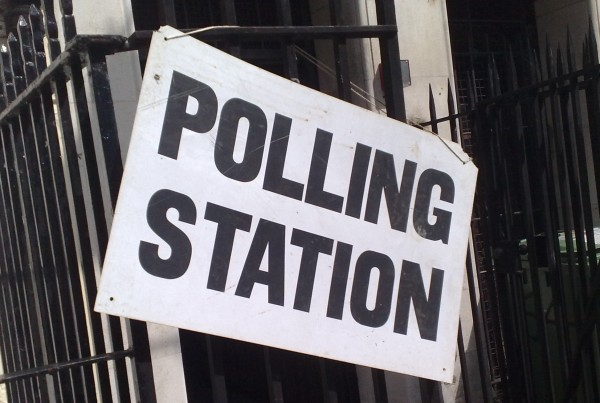 2020 - polling station